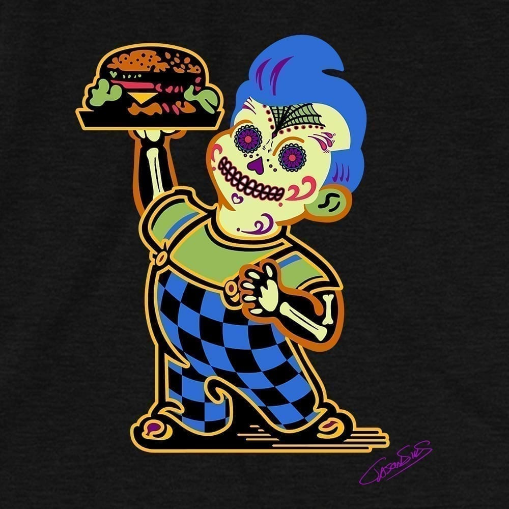 Burger Boy • Short-Sleeve Men's T-Shirt