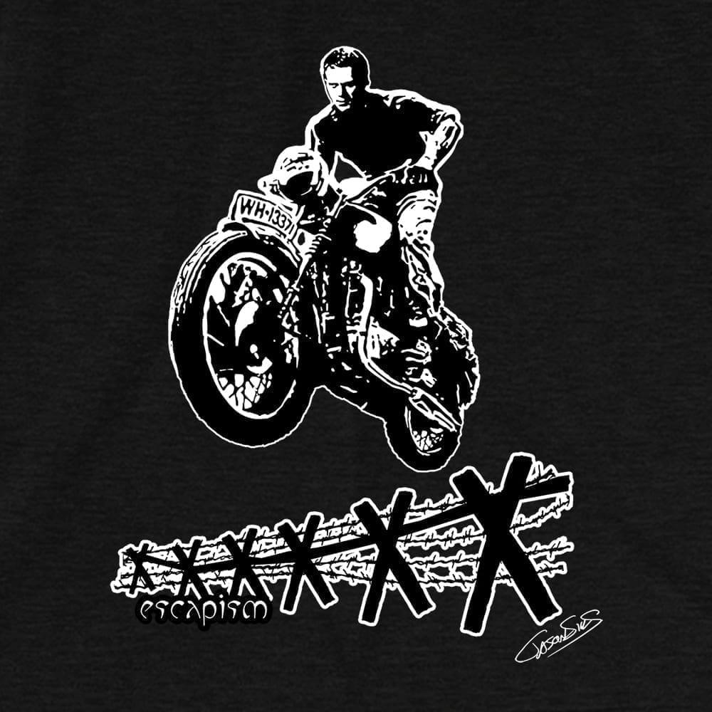 Escapism (bw) • Short-Sleeve Men's T-Shirt