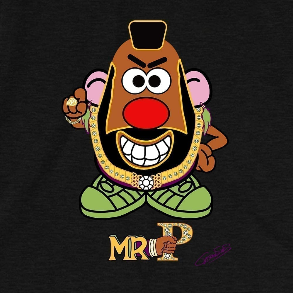 Mr. P • Women's Casual V-Neck T-Shirt