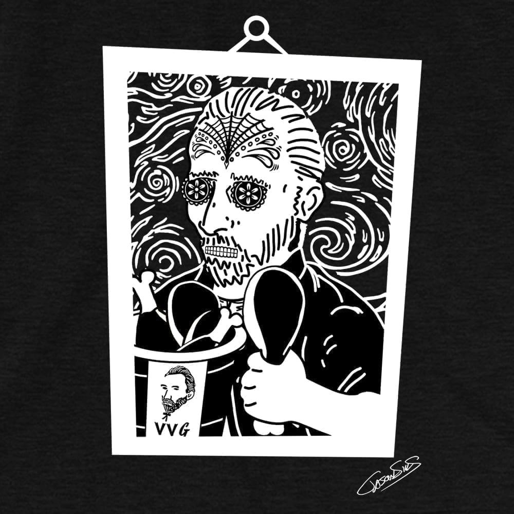 Vincent Extra Crispy Muerto (bw) • Short-Sleeve Men's T-Shirt