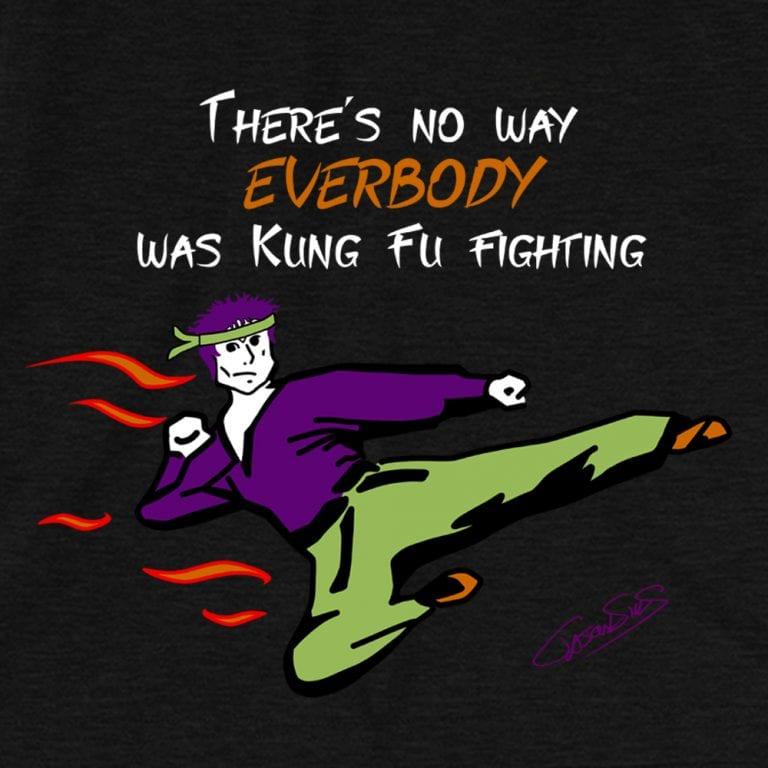 Kung Fu Fighting • Short-Sleeve Men's T-Shirt