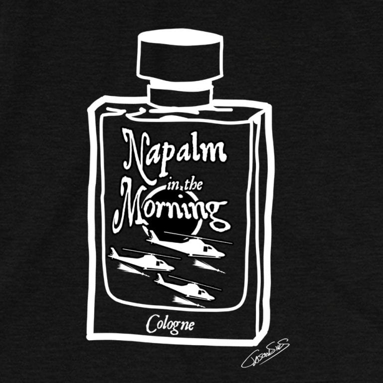 Napalm Cologne (bw) • Short-Sleeve Men's T-Shirt