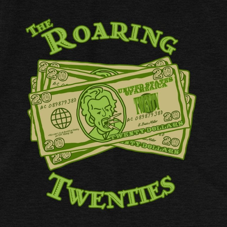 Roaring Twenties • Women's Casual V-Neck T-Shirt