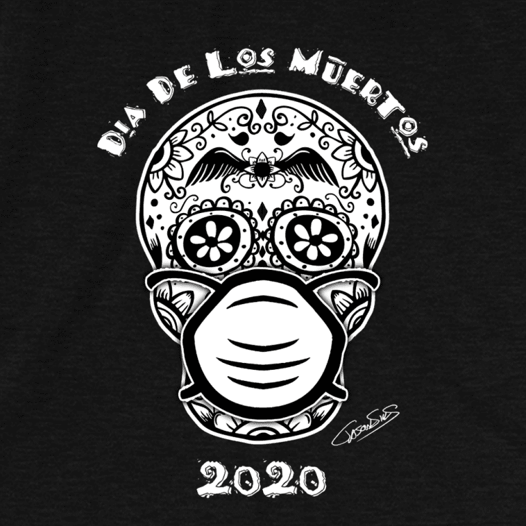 Dia De Los Muertos (bw) • Short-Sleeve Men's T-Shirt